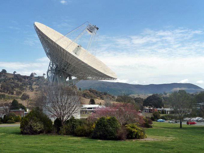 Deep Space Tracking Dish, Canberra