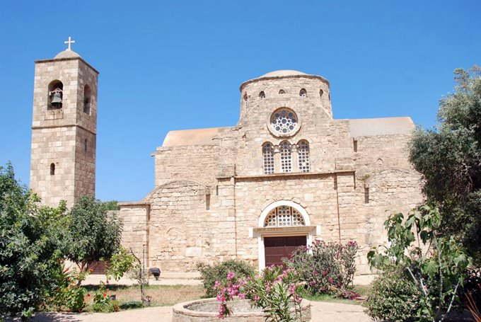 St. Barnabas Monastery, Occupied Cyprus
