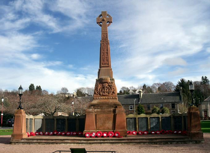 War Memorial in Inverness Scotland
