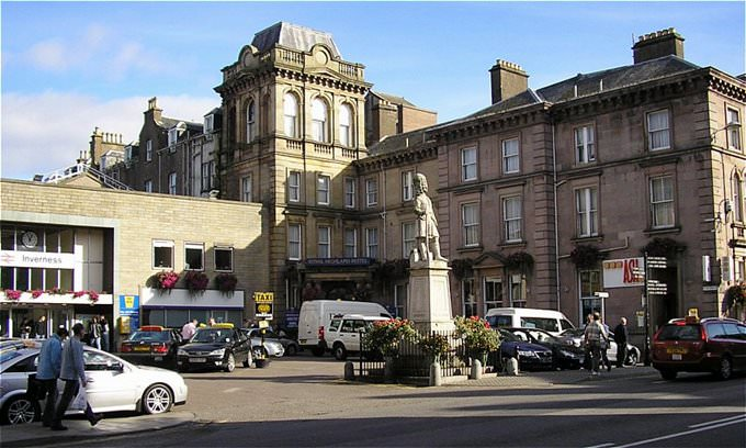 Station Square, Inverness