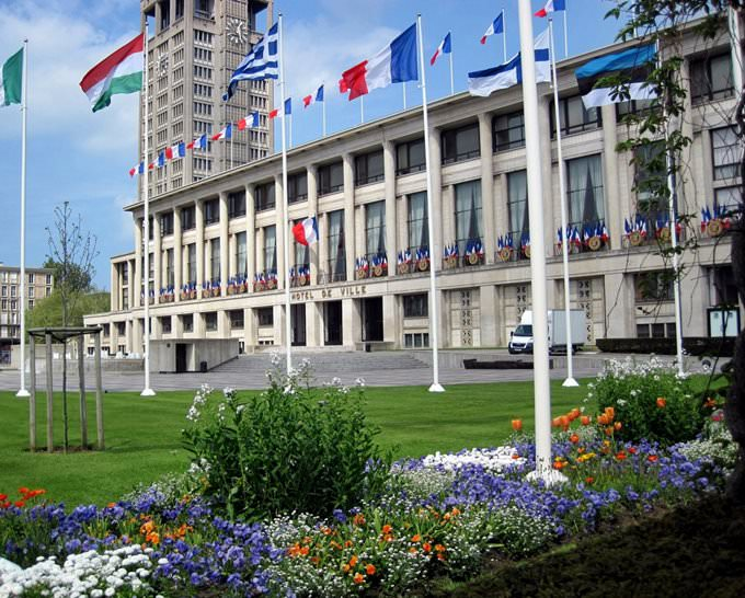 City Center in Le Havre