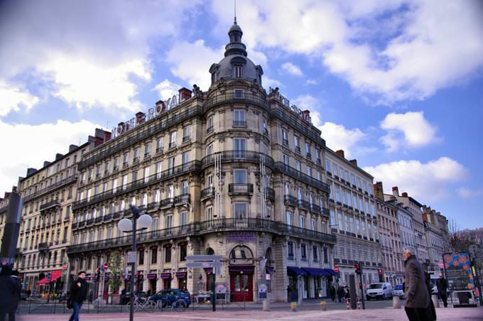 Lyon, France - Hotel Royal