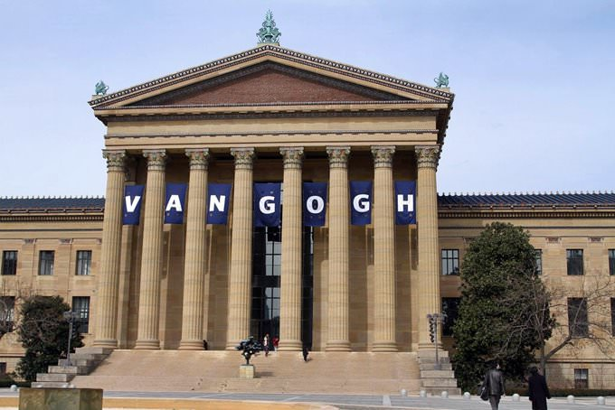 Philadelphia Museum of Art (Featuring Van Gogh Exhibition)