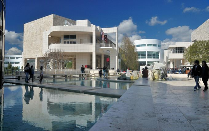 Getty Center Museum in Santa Monica