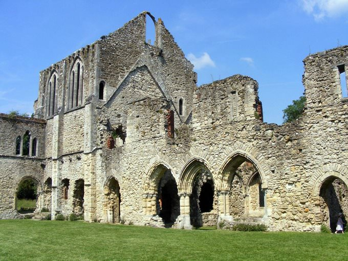 Netley Abbey, near Southampton