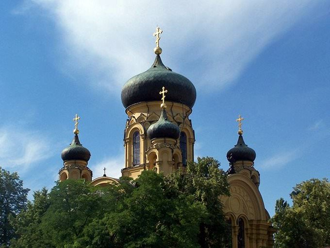 Orthodox cathedral in Warsaw
