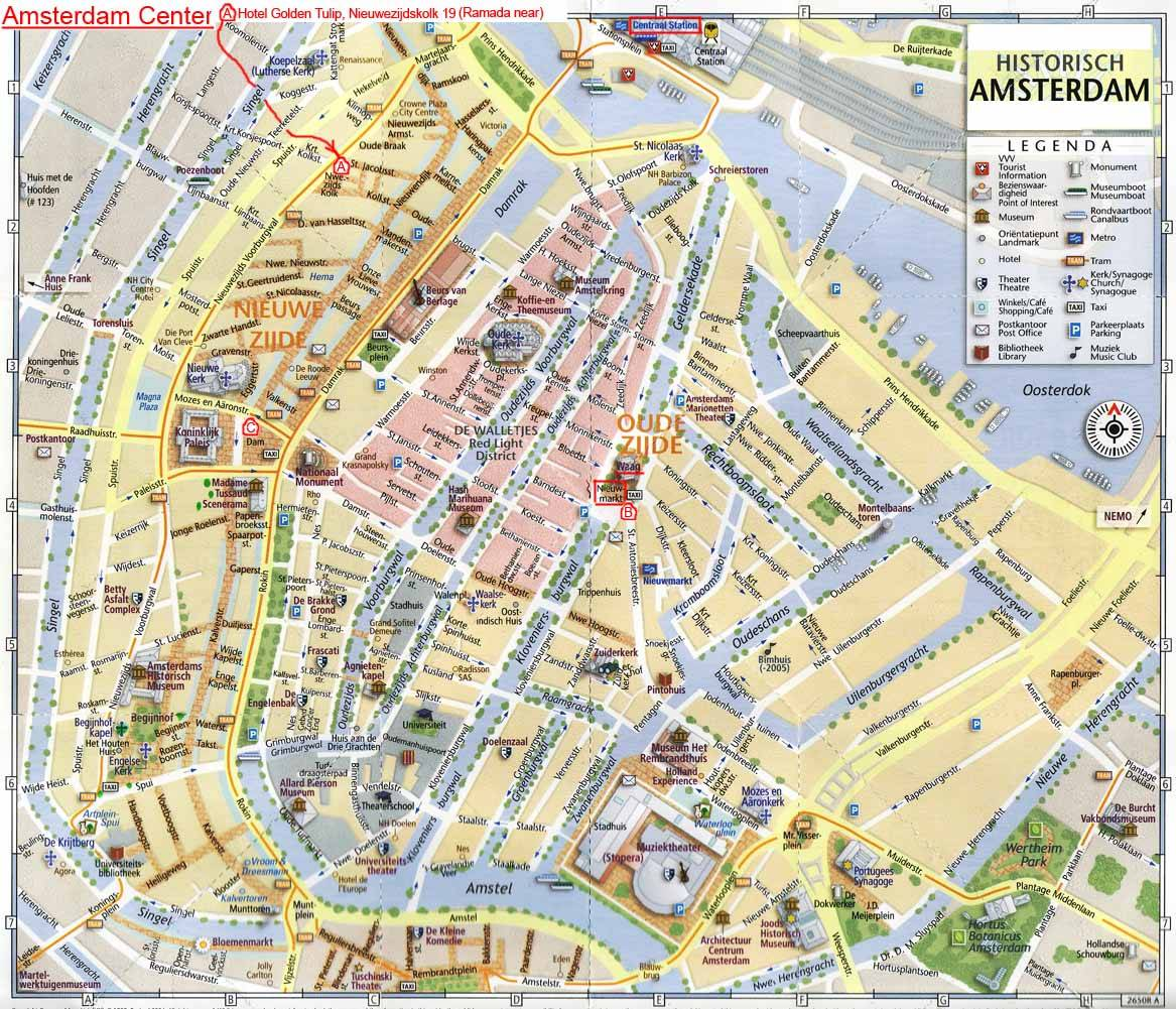 amsterdam mapa Large Amsterdam Maps for Free Download and Print | High Resolution  amsterdam mapa