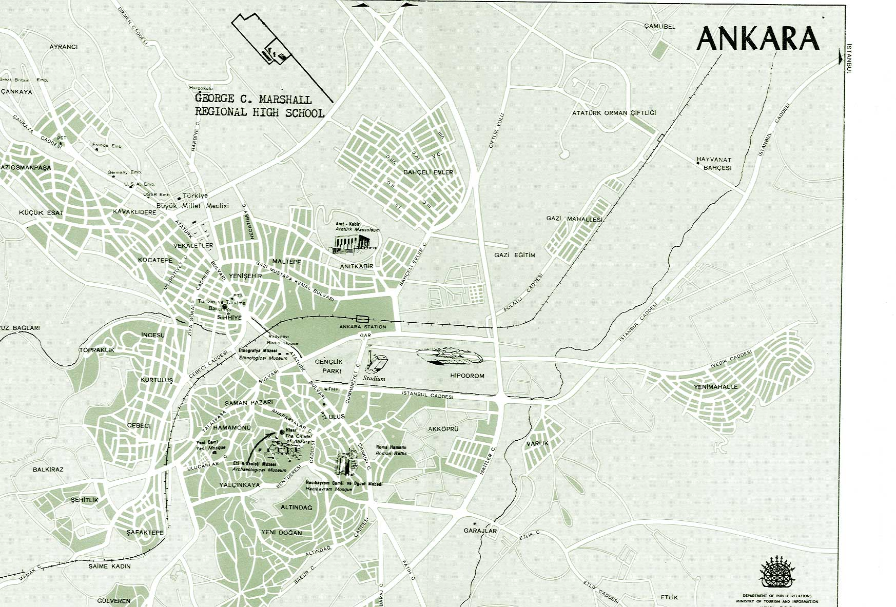 Large Ankara Maps for Free Download and Print HighResolution and
