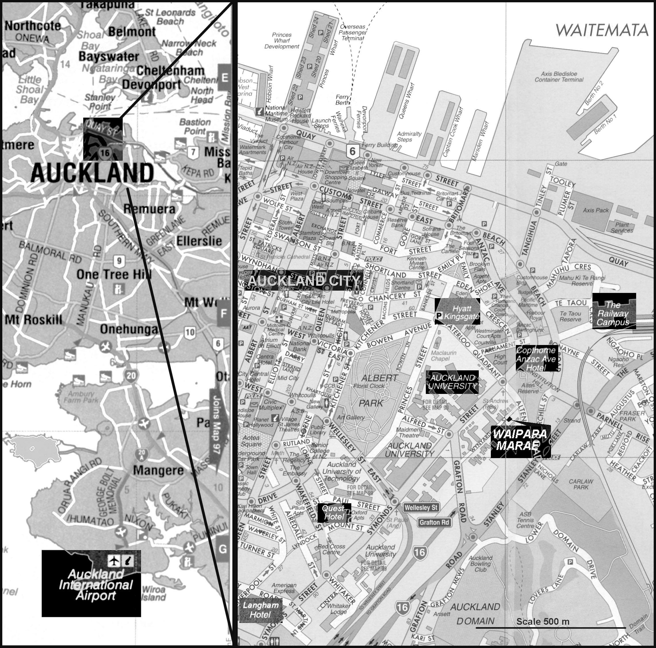 Auckland City Map - Google My Maps