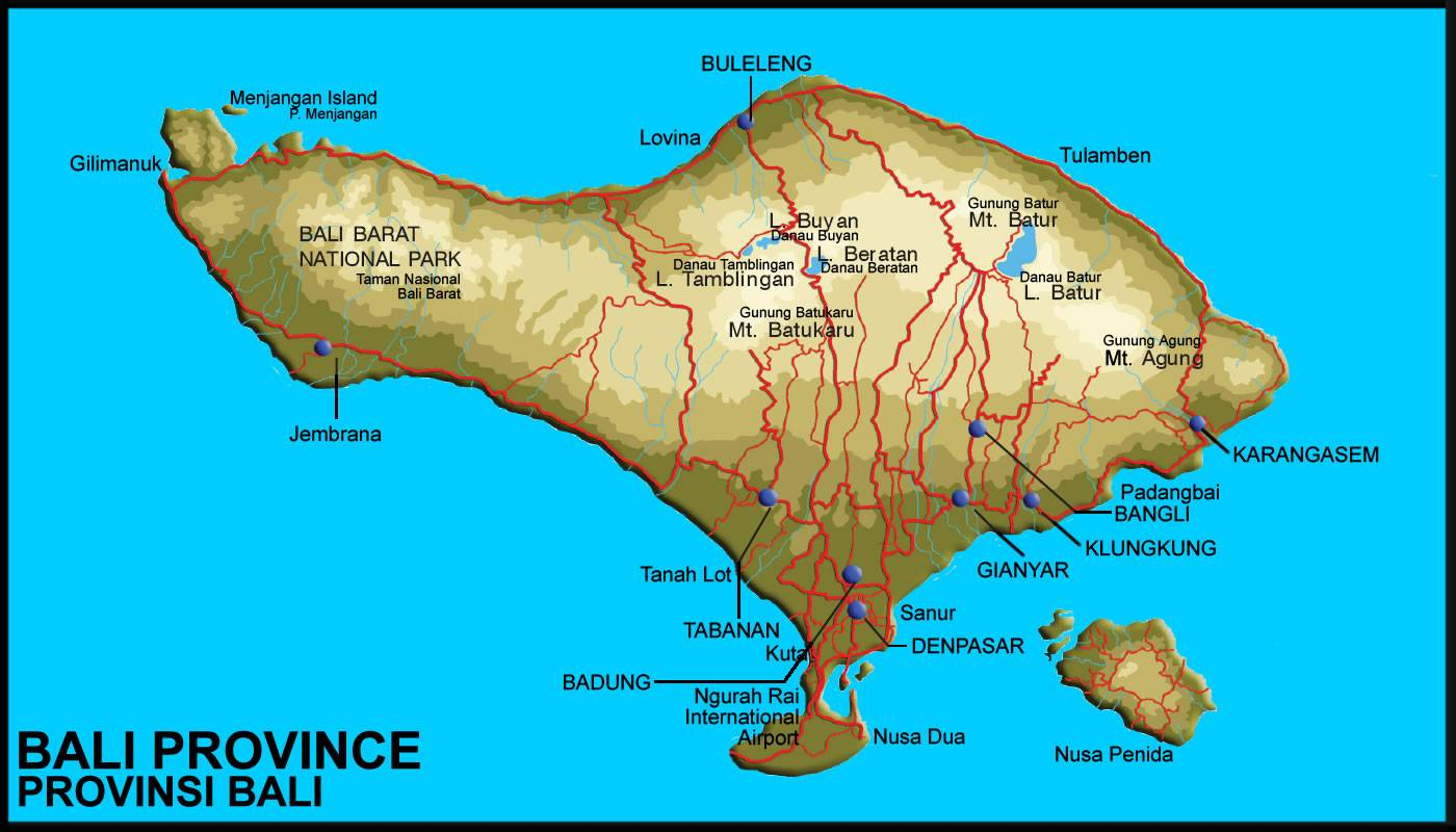 Large bali maps for free download and print high resolution and large map of bali 1 gumiabroncs
