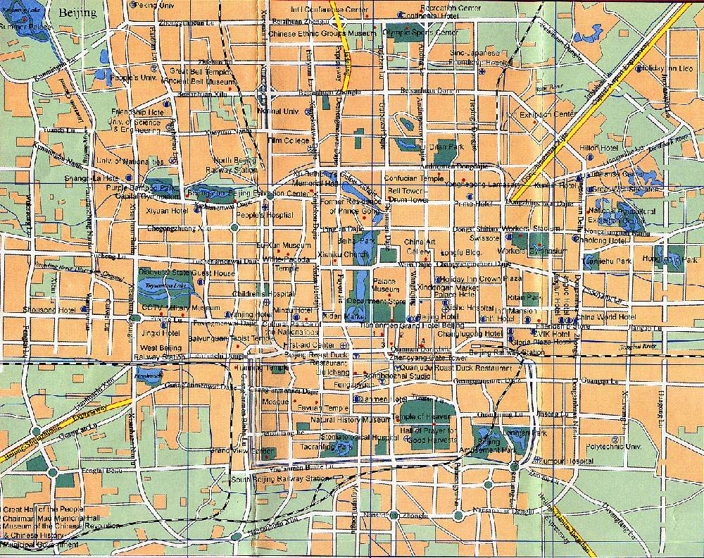 Large Beijing Maps For Free Download And Print High Resolution