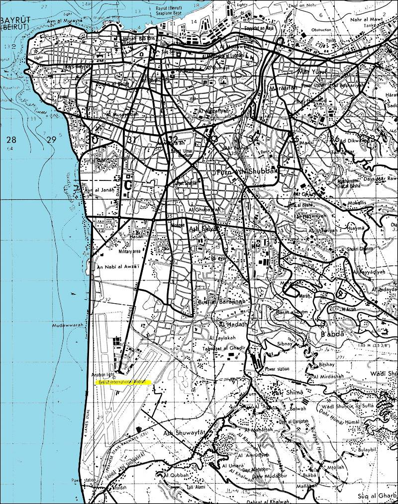 Large Beirut Maps for Free Download and Print HighResolution and