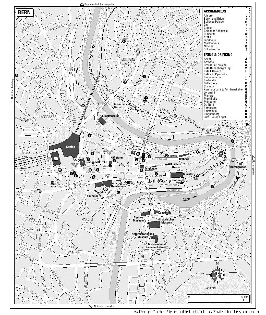 Large Bern Maps for Free Download and Print HighResolution and