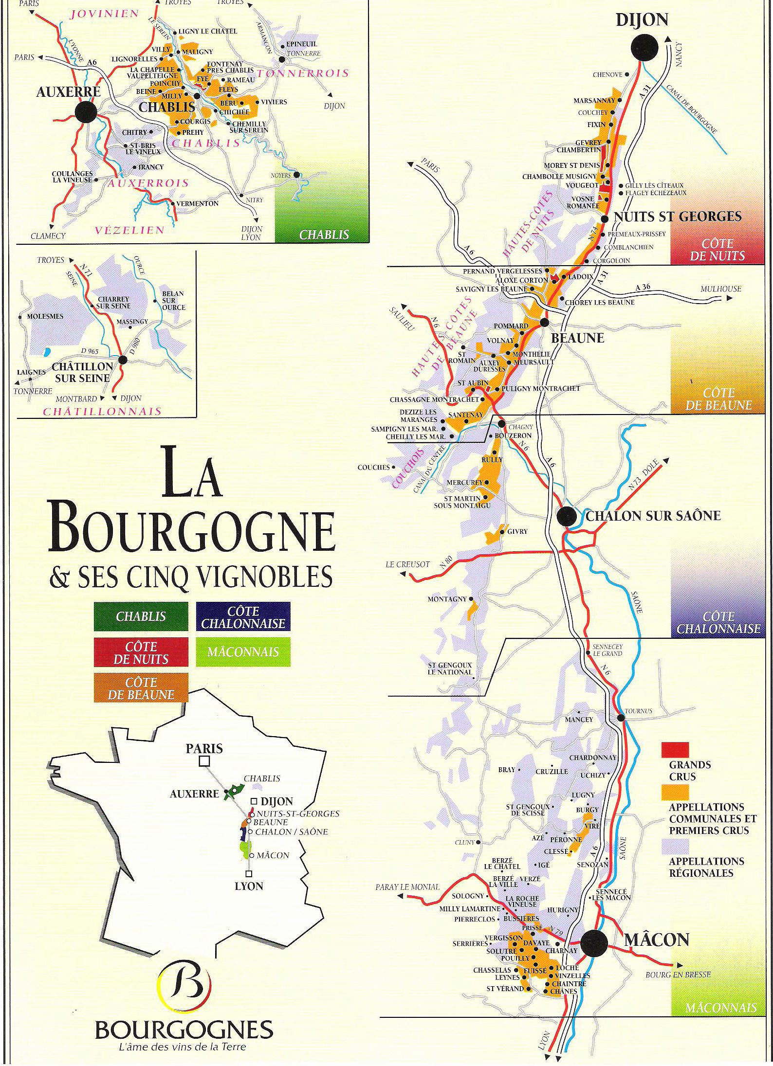 Large Burgundy Maps for Free Download and Print HighResolution