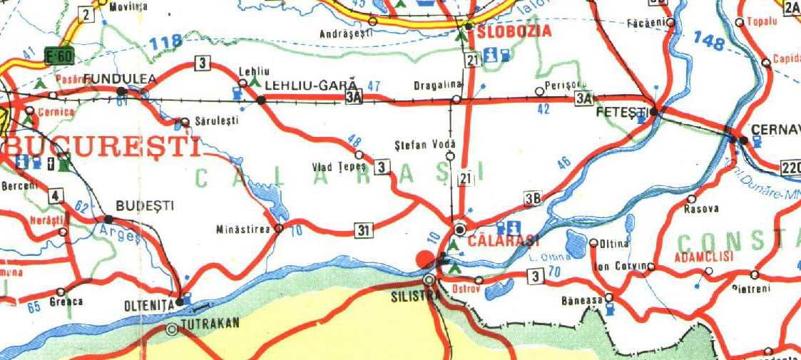 Подробные карты Бухареста