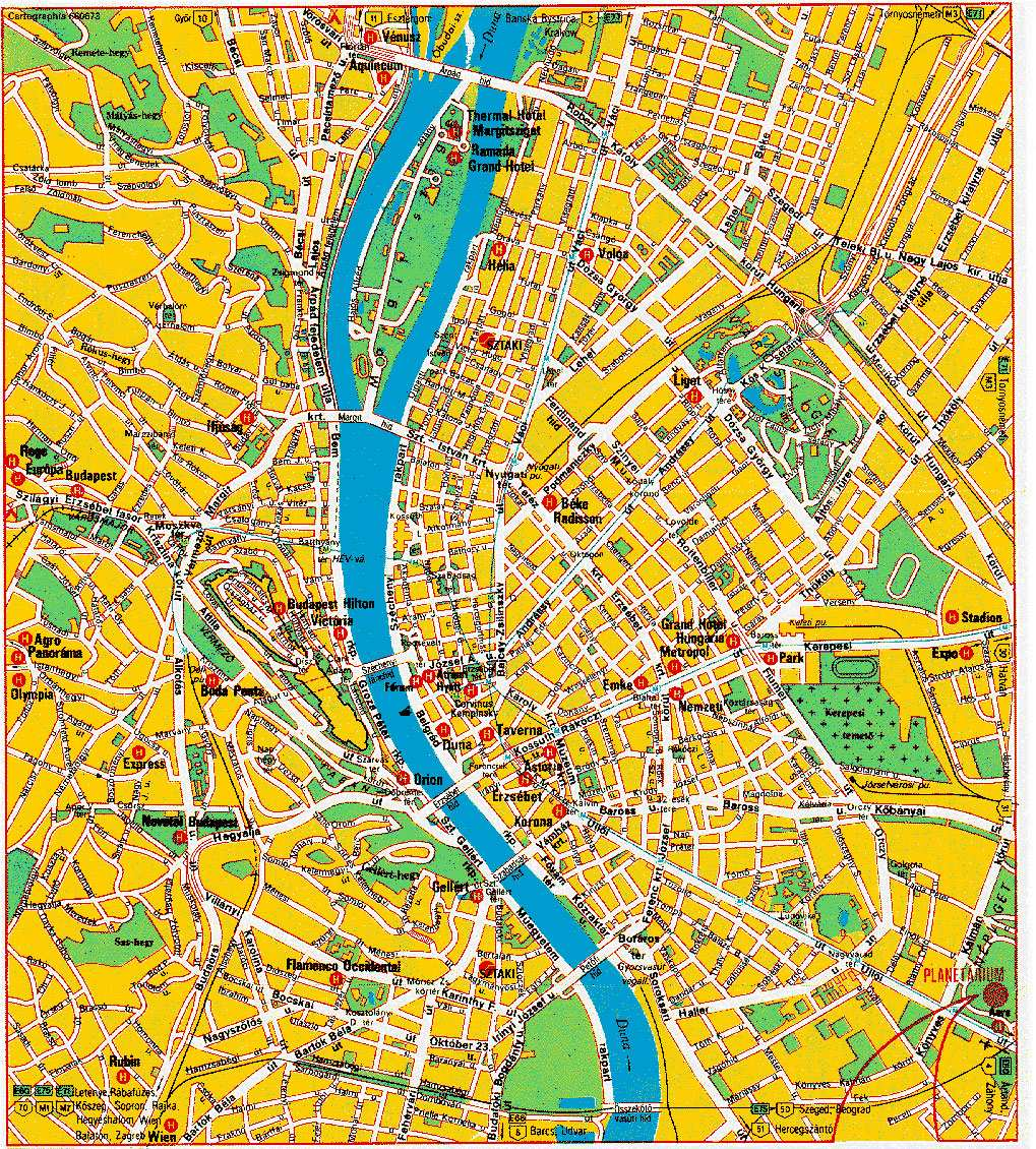 Large Budapest Maps for Free Download and Print HighResolution