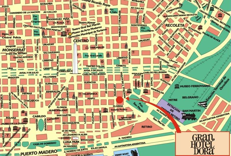 Large Buenos Aires Maps For Free Download And Print High - Argentina map to print