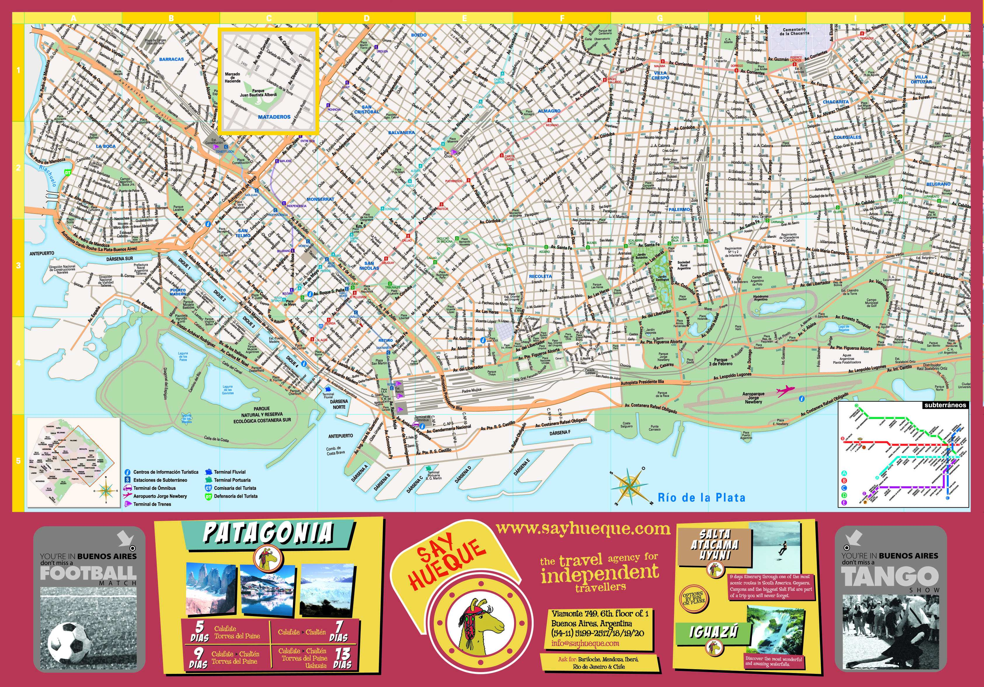 Large Buenos Aires Maps for Free Download | High-Resolution and ...