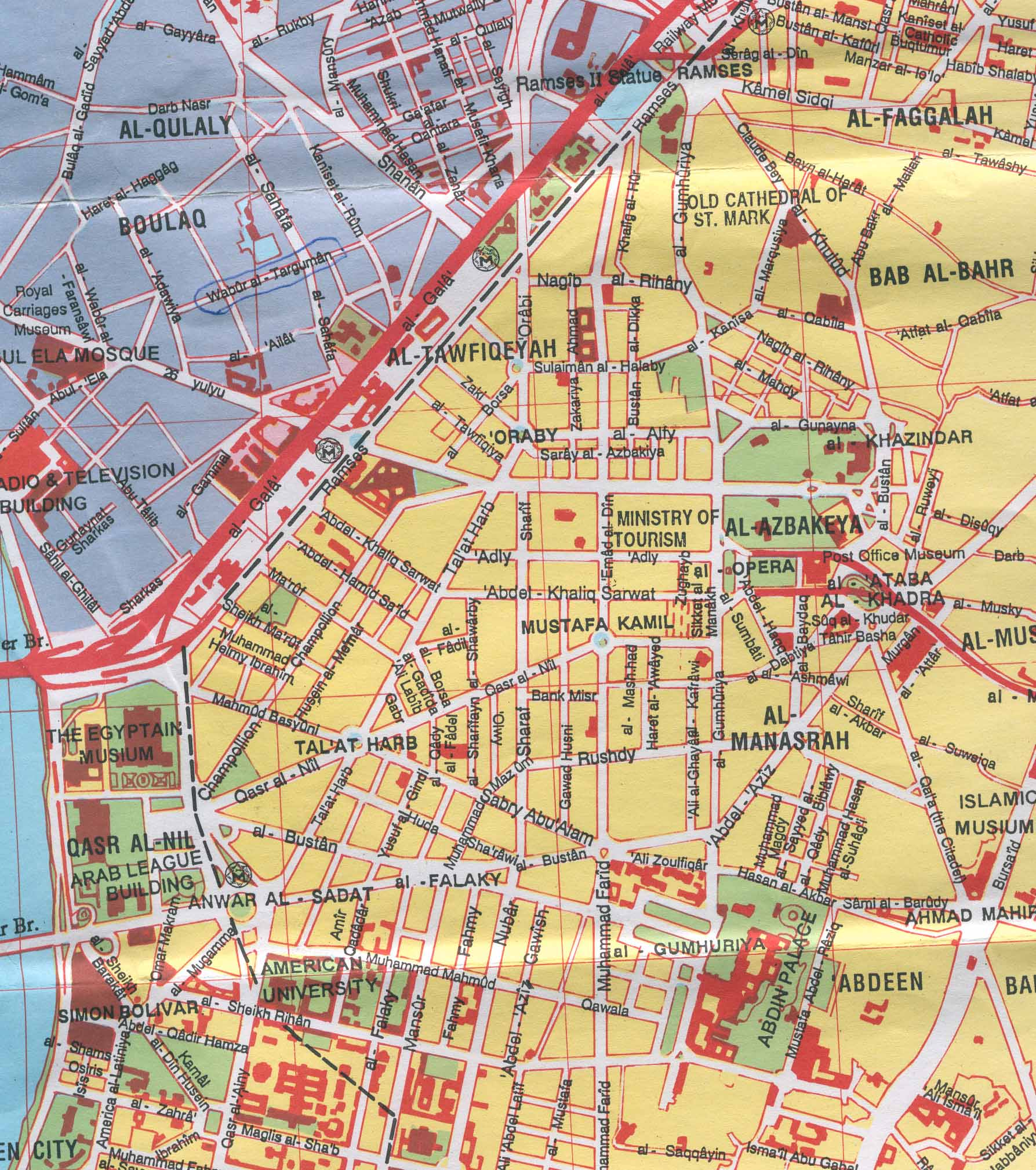Large Cairo Maps for Free Download and Print HighResolution and