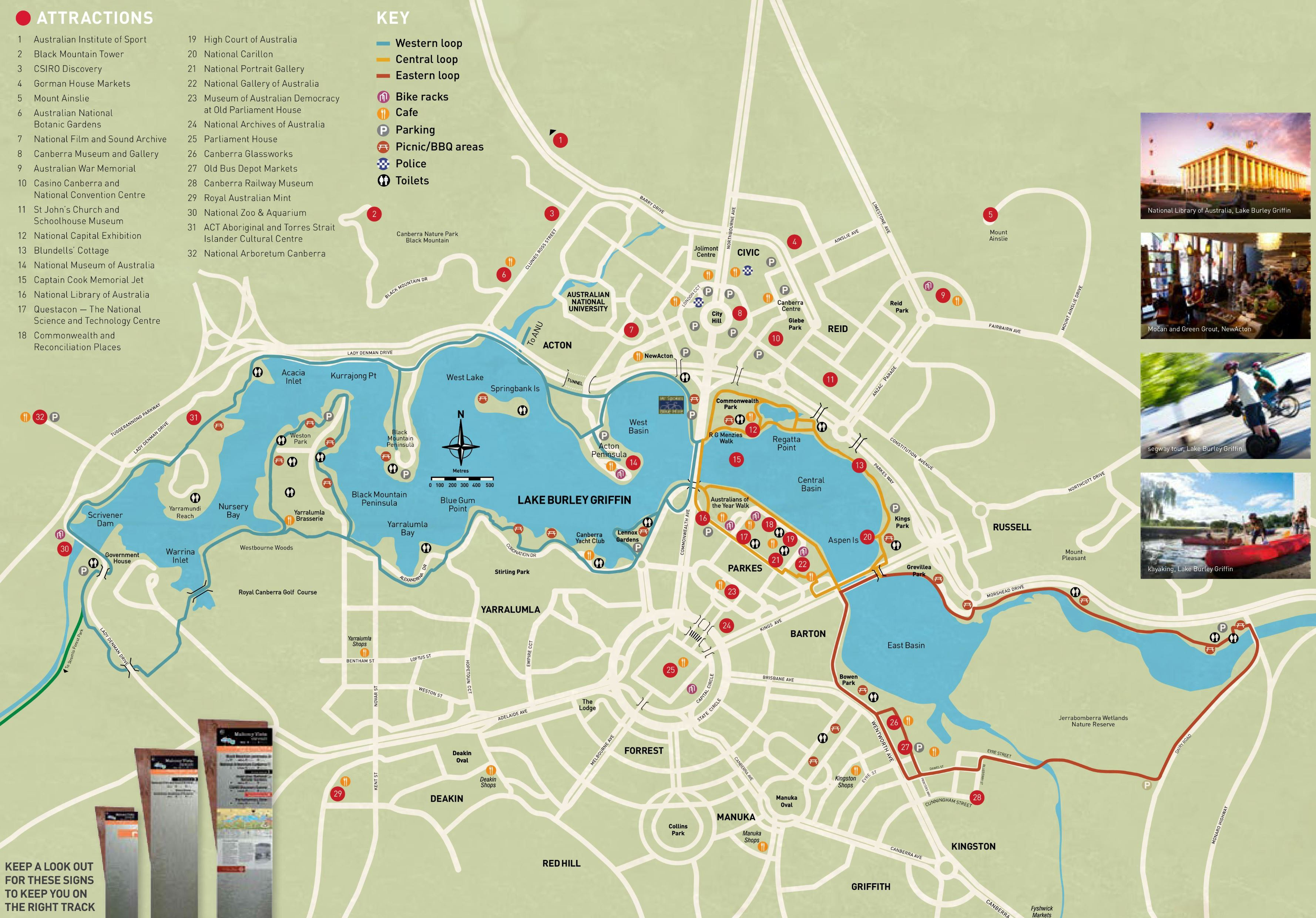 Detailed Map Australia.Large Canberra Maps For Free Download And Print High Resolution
