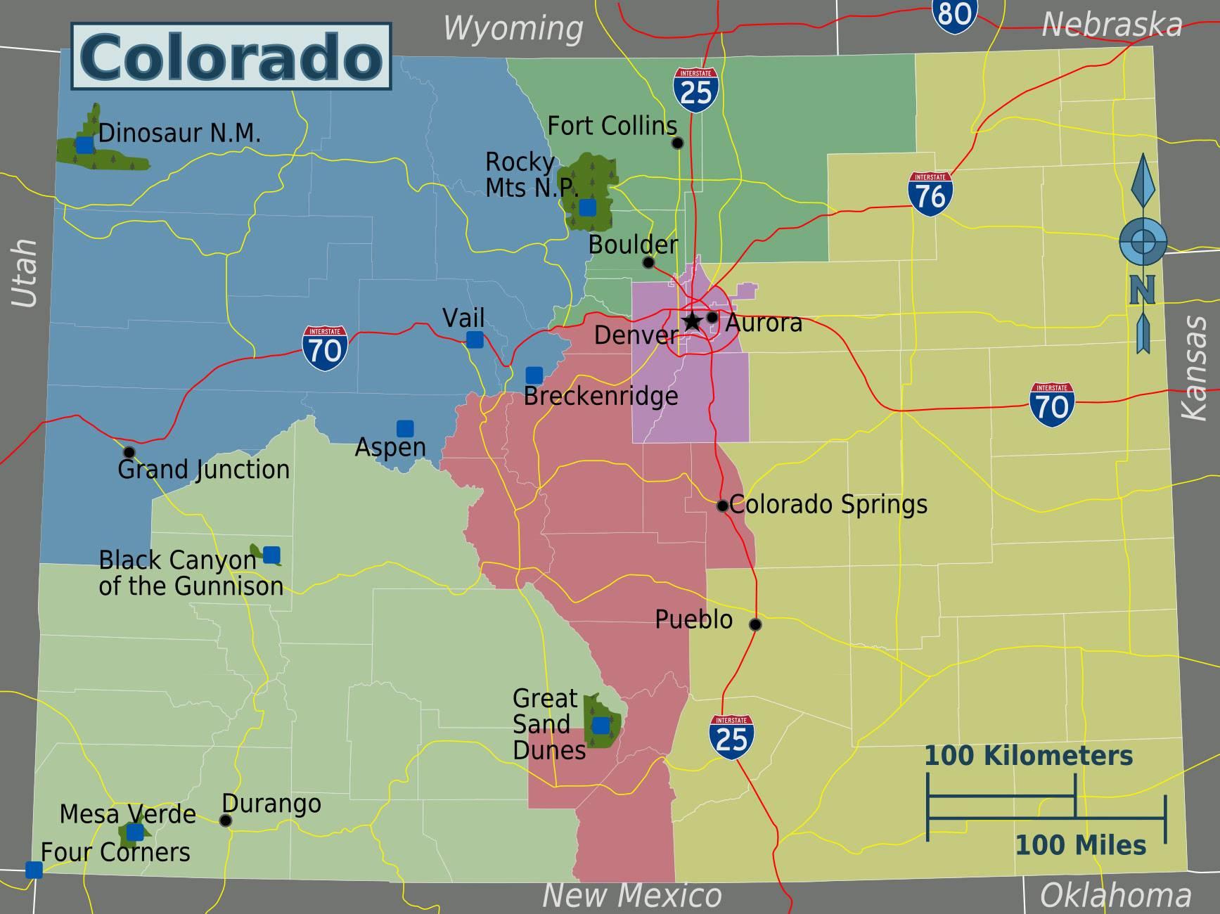 Colorado Karte Fluss.Colorado Karte Onlinebieb