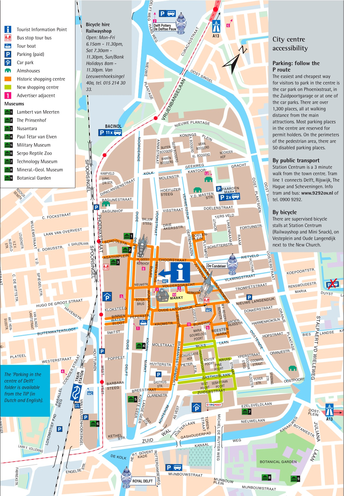 Large Delft Maps for Free Download and Print HighResolution and