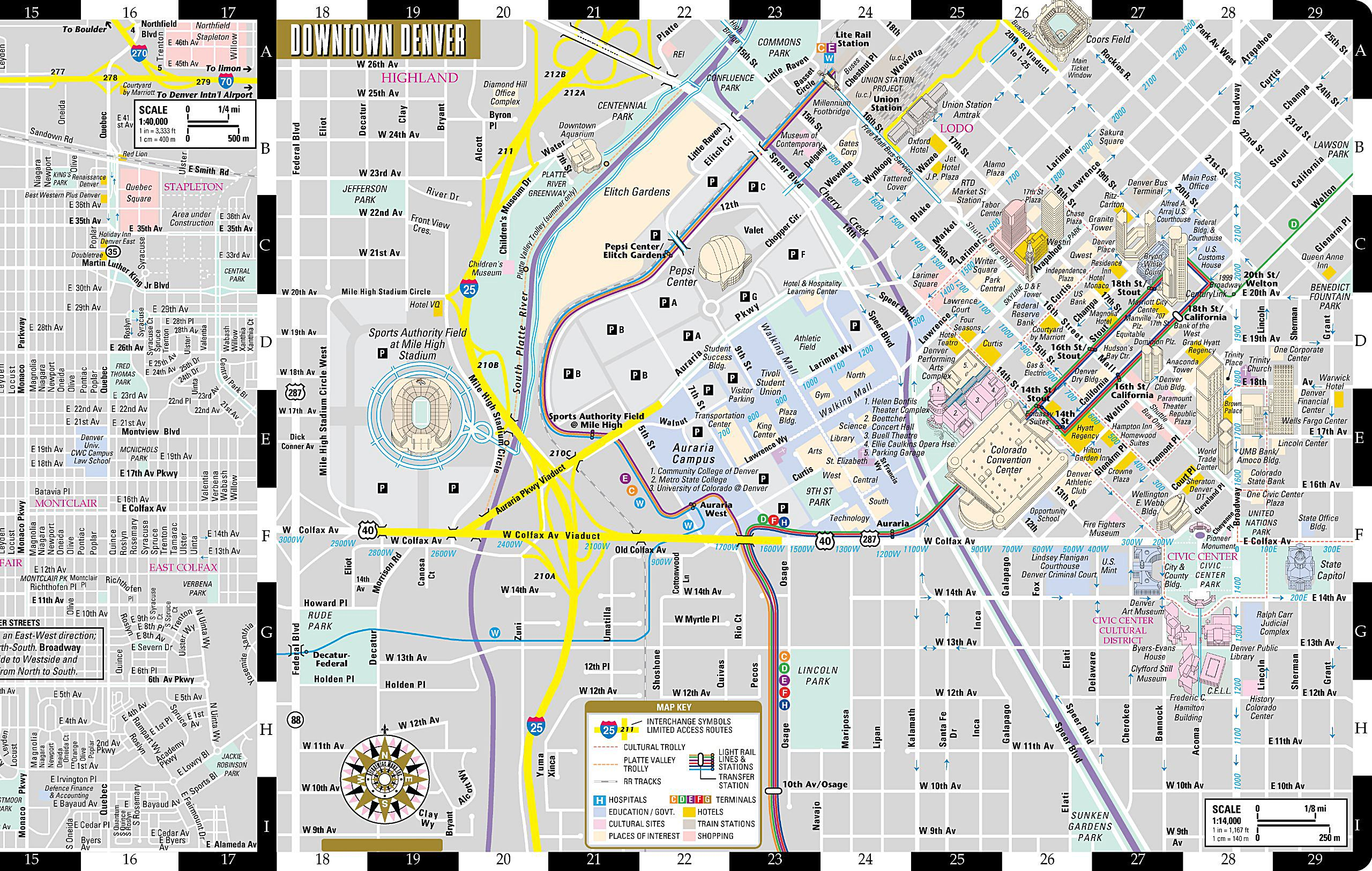 Large Denver Maps for Free Download and Print   High ... on pueblo hotel map, denver downtown attractions, honolulu walking tour map, denver downtown apartments, denver interactive map, linq hotel map, downtown denver city map, brewery downtown denver map, bars downtown denver map, lone tree hotel map, downtown aquarium denver map, downtown honolulu street map, downtown denver street map, clearwater beach hotel map, denver art museum map, denver downtown shopping, restaurant downtown indianapolis indiana map, lower downtown denver map, restaurants downtown denver map, downtown denver parking lot map,