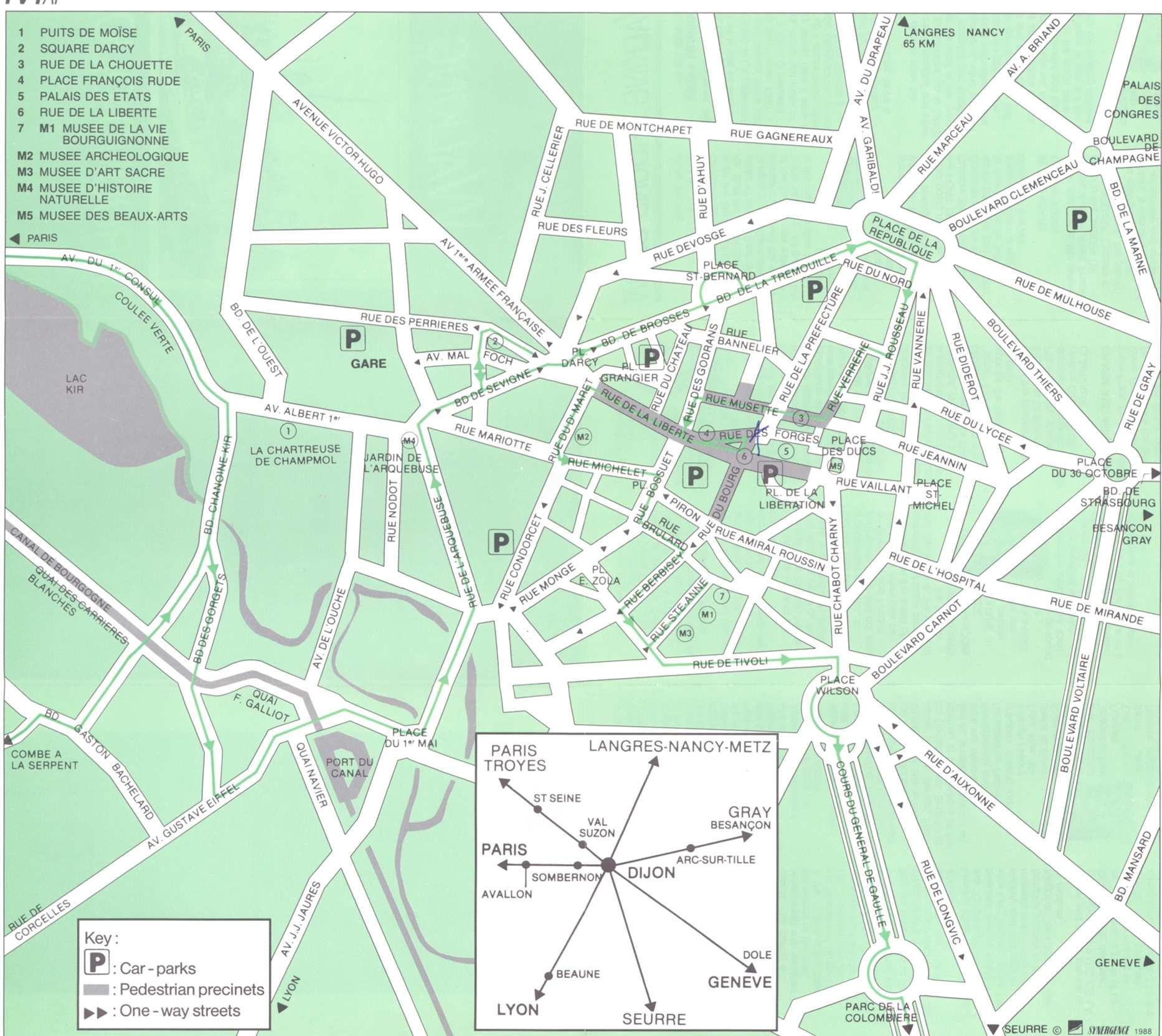 Large Dijon Maps for Free Download and Print | High-Resolution and ...