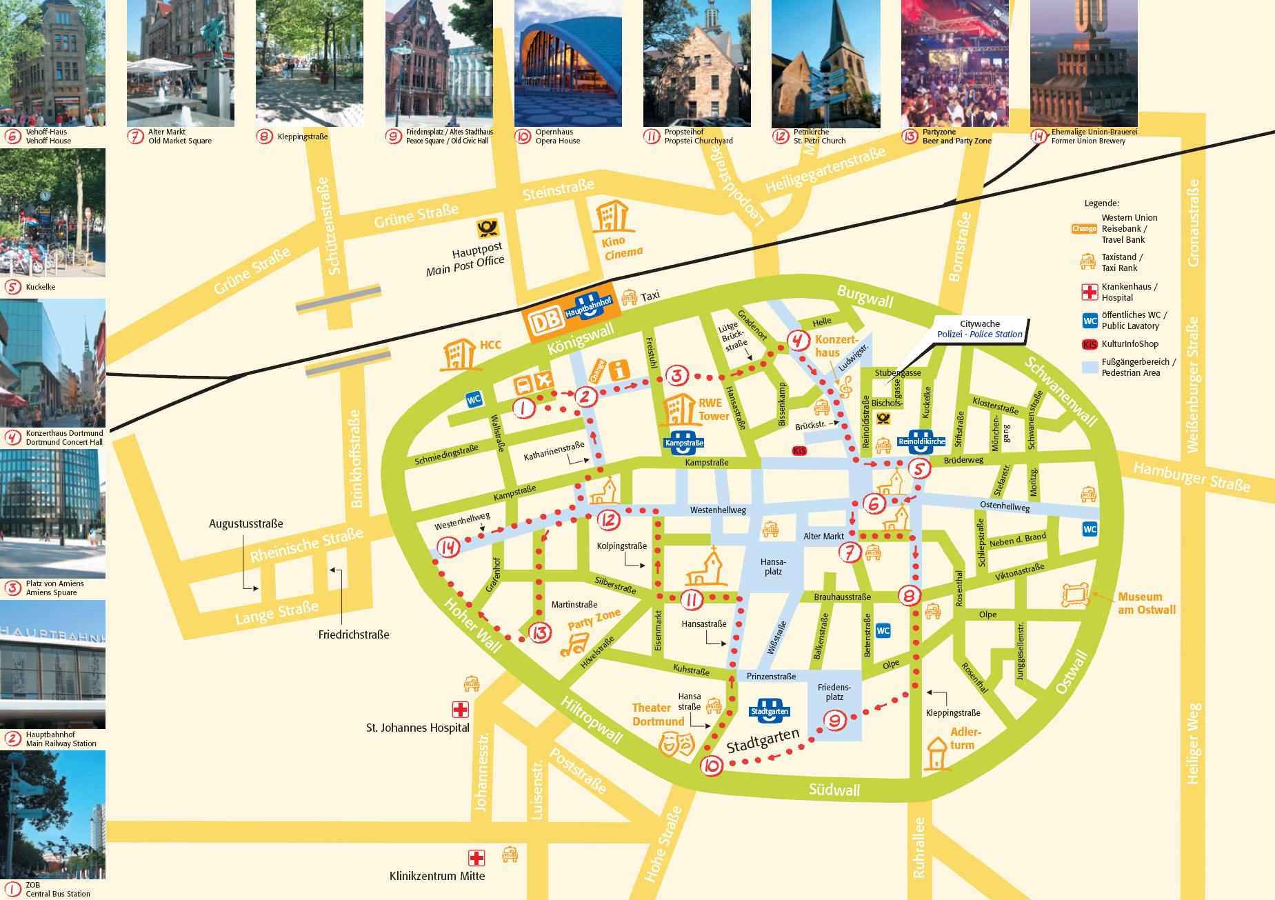 Large Dortmund Maps for Free Download and Print HighResolution