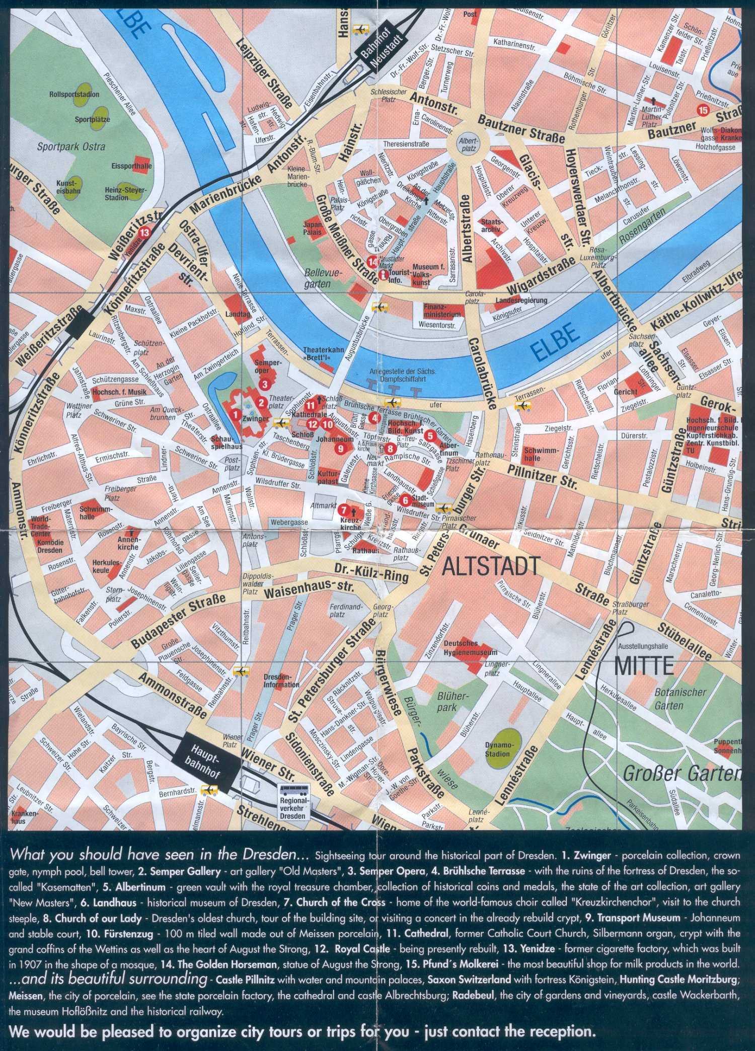 Large Dresden Maps for Free Download and Print HighResolution and