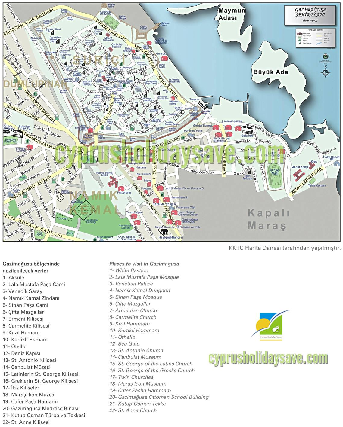 Large Famagusta Maps for Free Download and Print HighResolution