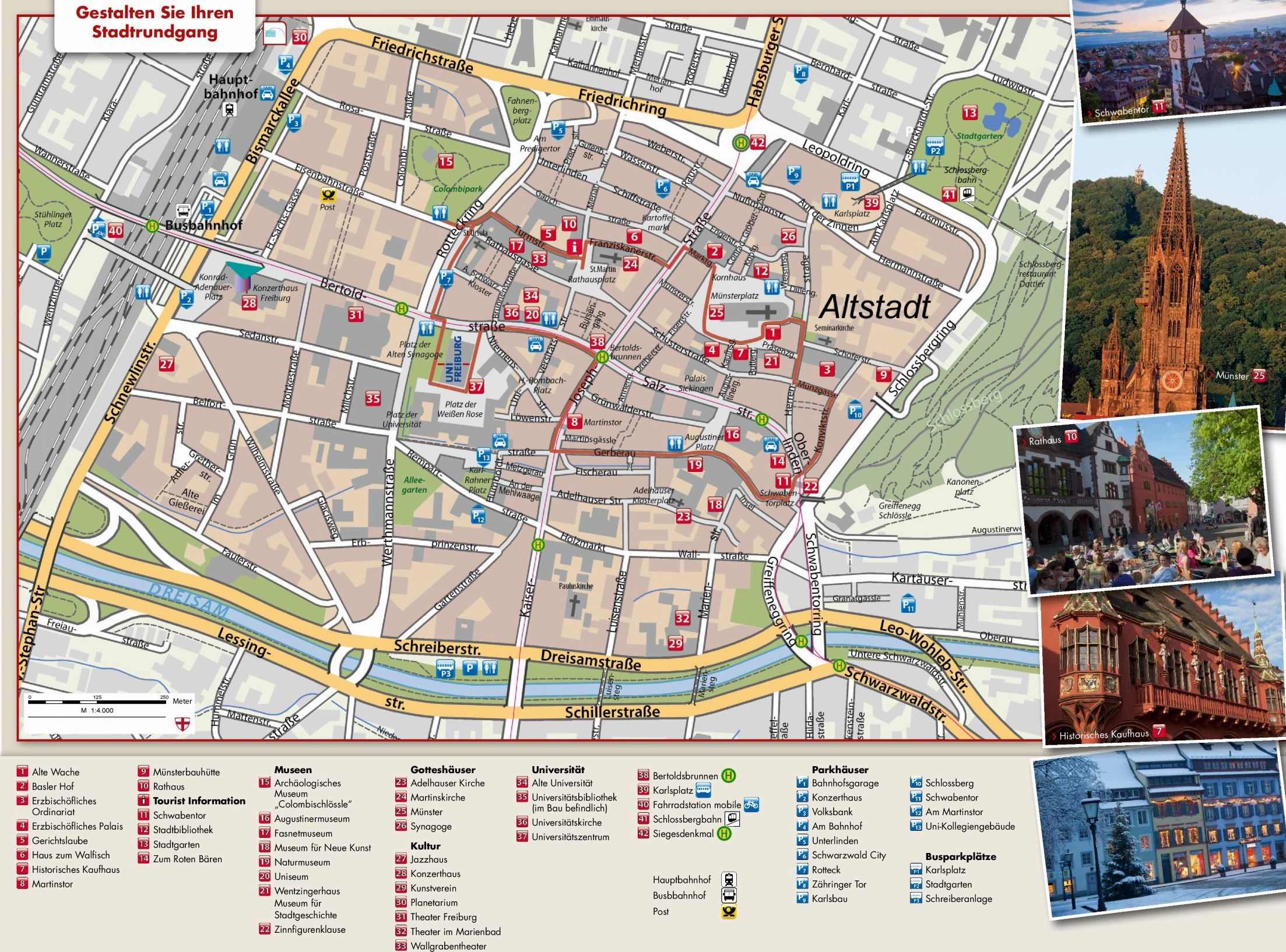 Large Freiburg im Breisgau Maps for Free Download and Print High