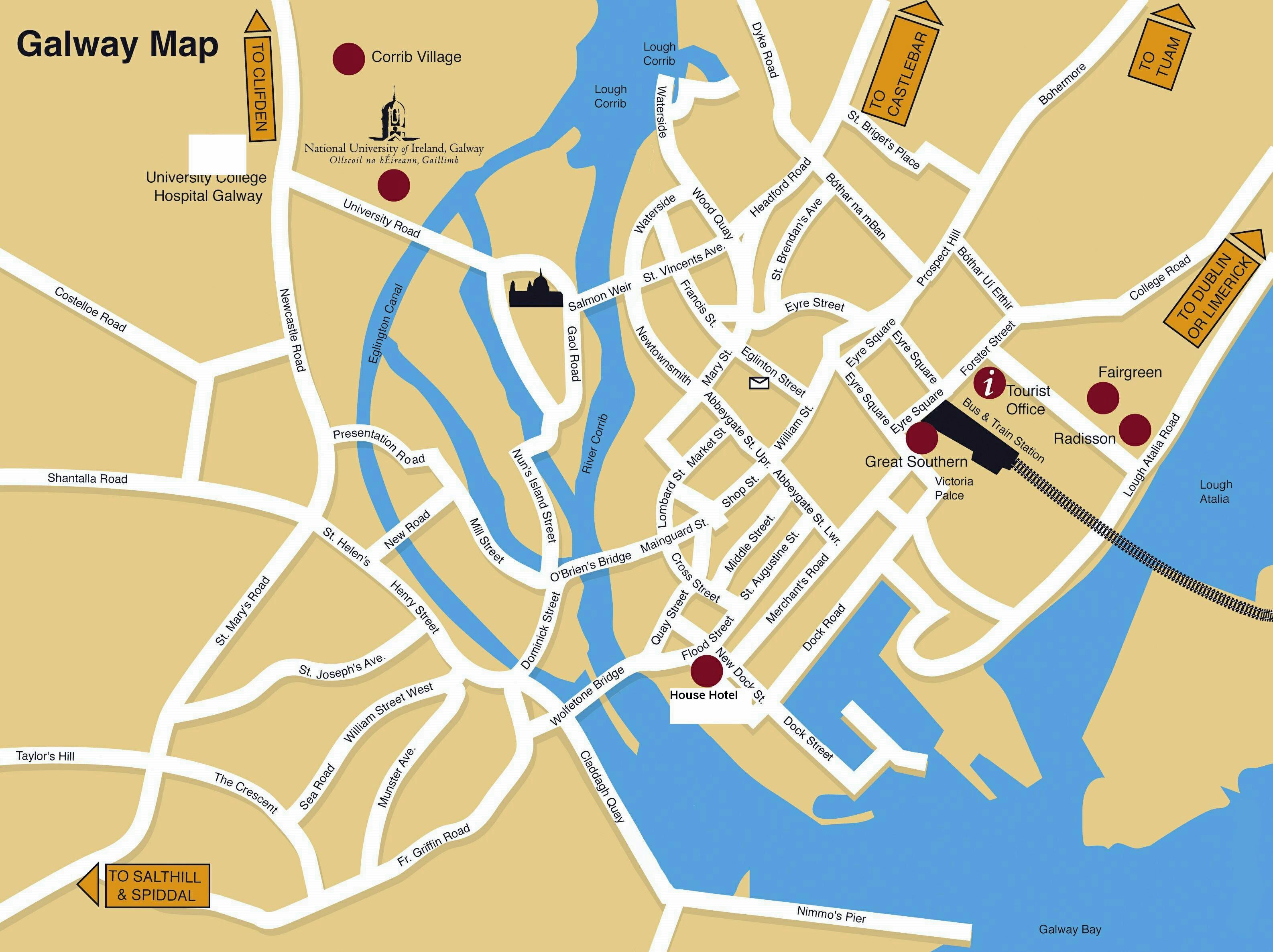 Large Galway Maps for Free Download and Print | High ... on street map of hudson falls, street map of norwich, street map of cleveland, street map of birmingham, street map of boston, street map of florence, street map of exeter, street map of dundalk, street map of worcester, street map of ulster, street map of manchester, street map of york, street map of nassau, street map of barcelona, street map of rome, street map of oughterard, street map of dublin, street map of liverpool, street map of saratoga, street map of london,