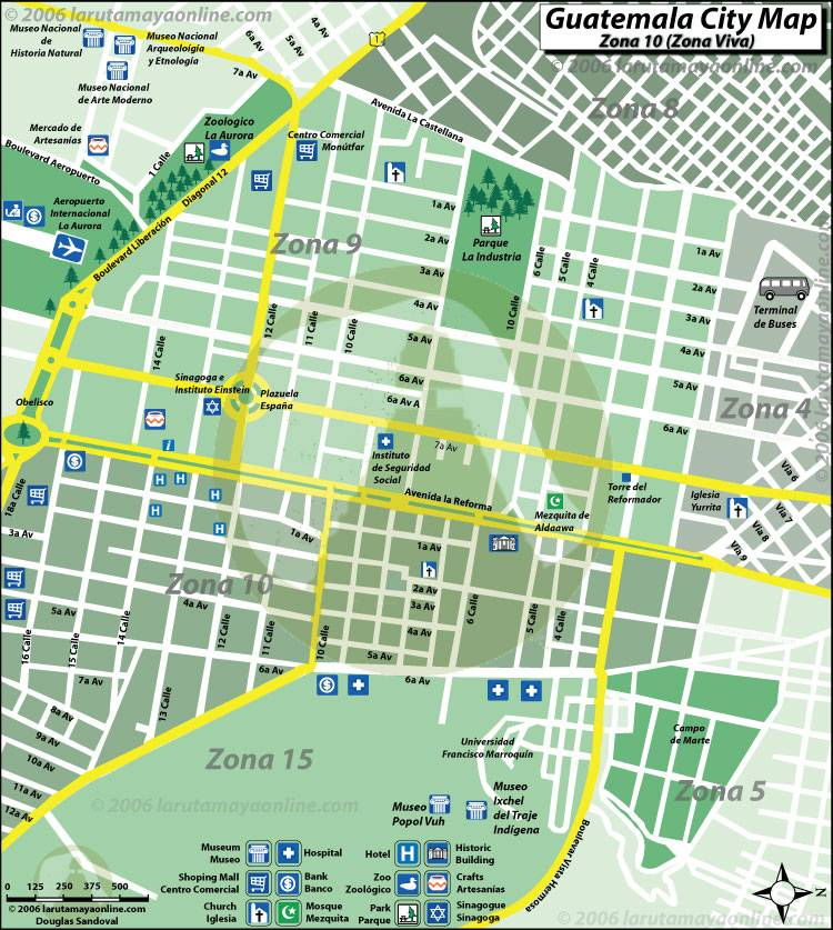 Large Guatemala City Maps For Free Download And Print High