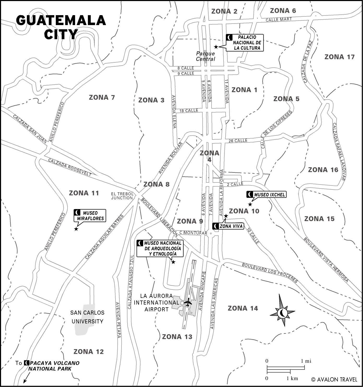 Large Guatemala City Maps for Free Download and Print | High ...