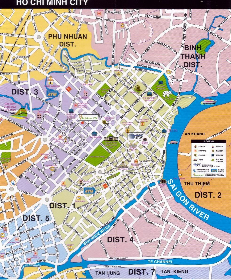 Ho Chi Minh City Map Large Ho Chi Minh City Maps for Free Download and Print | High  Ho Chi Minh City Map