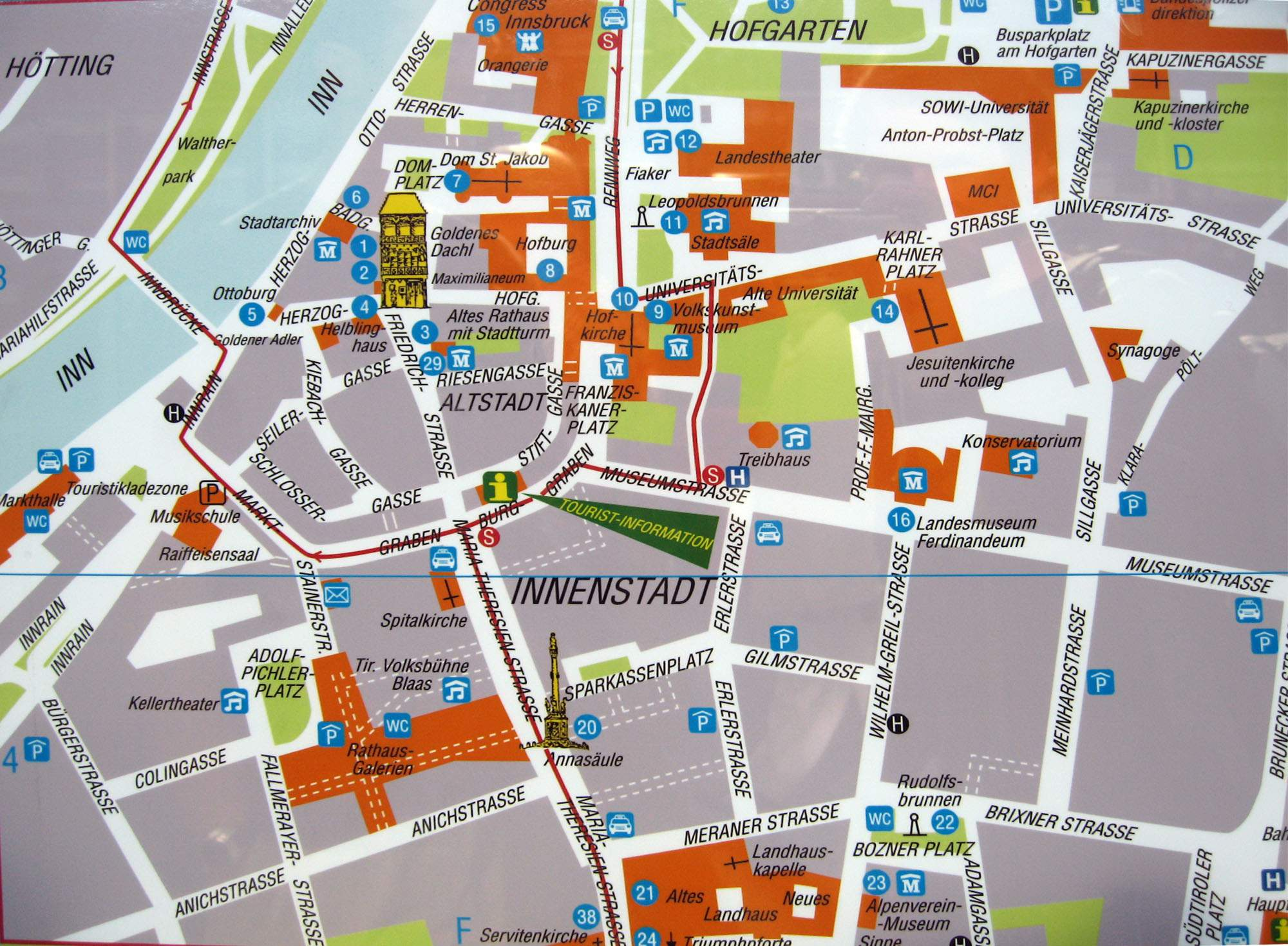 Large Innsbruck Maps for Free Download and Print HighResolution