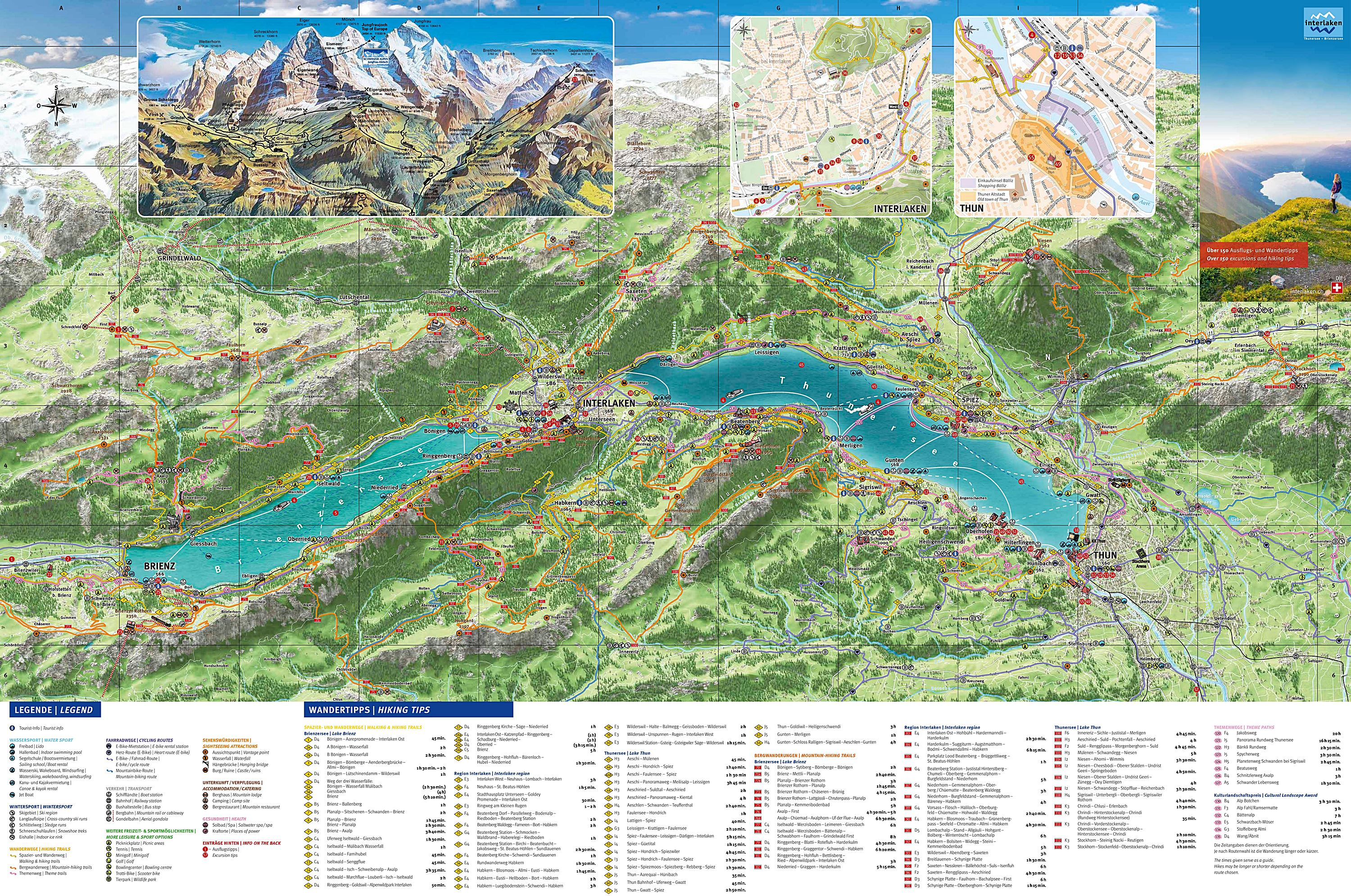 Large Interlaken Maps for Free Download and Print HighResolution