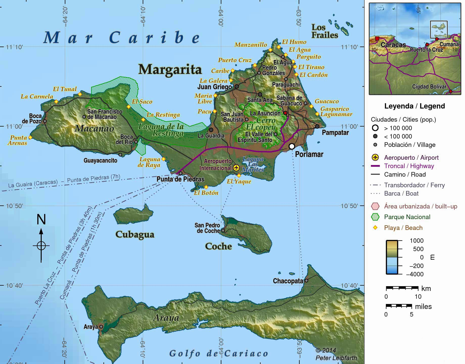 Large Isla Margarita Maps for Free Download and Print | High ... on puerto cabello venezuela map, simple venezuela map, maracaibo venezuela map, porlamar venezuela map, merida venezuela map, ciudad bolivar venezuela map, valencia venezuela map, barquisimeto venezuela map, argentina and venezuela map, paria peninsula venezuela map, venezuela river map, los roques venezuela map, venezuela colombia map, caracas venezuela map, punto fijo venezuela map, venezuela south america map, la guaira venezuela map, puerto la cruz venezuela map, aruba venezuela map, venezuela on a map,
