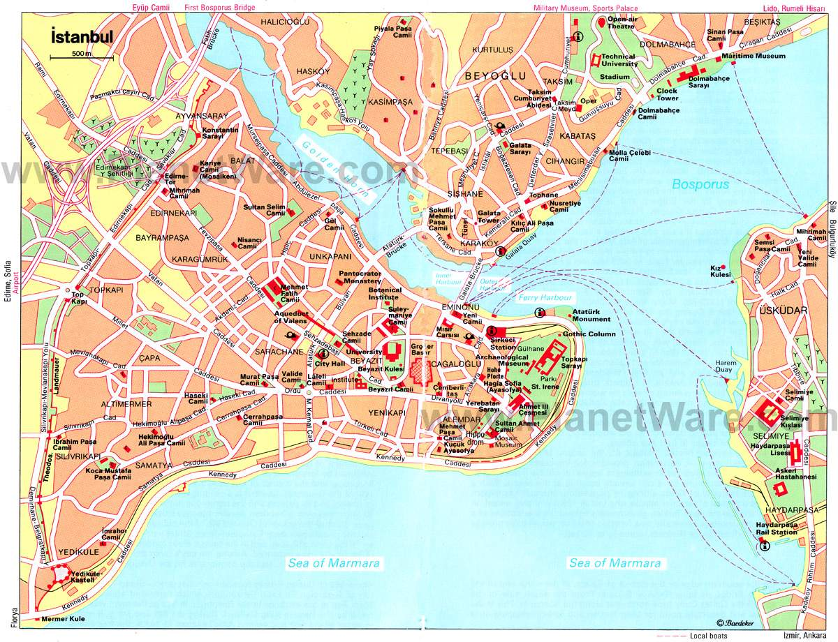 istanbul mapa Large Istanbul Maps for Free Download and Print | High Resolution  istanbul mapa