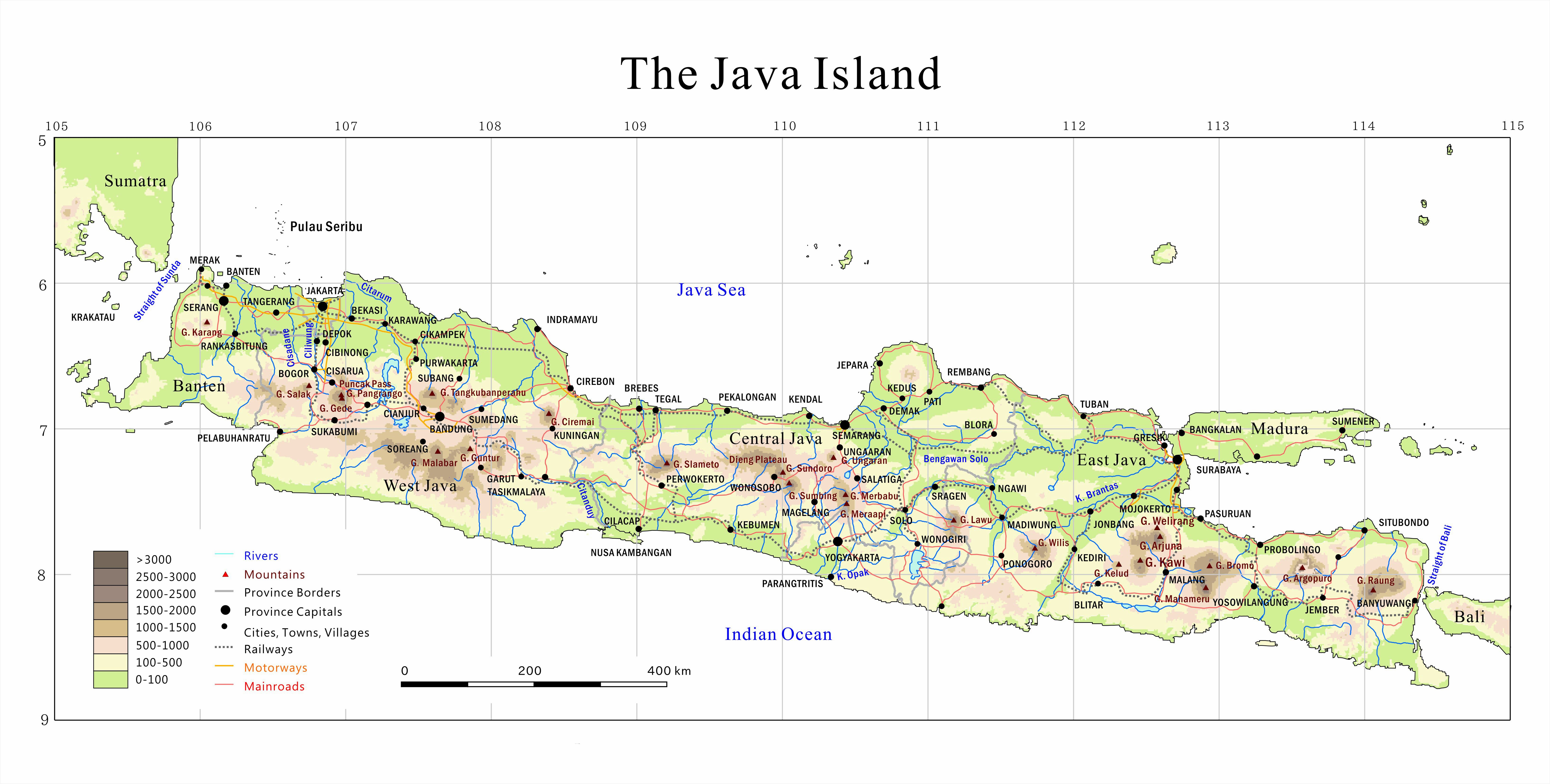 Java For Map Large Java Maps for Free Download and Print | High Resolution and