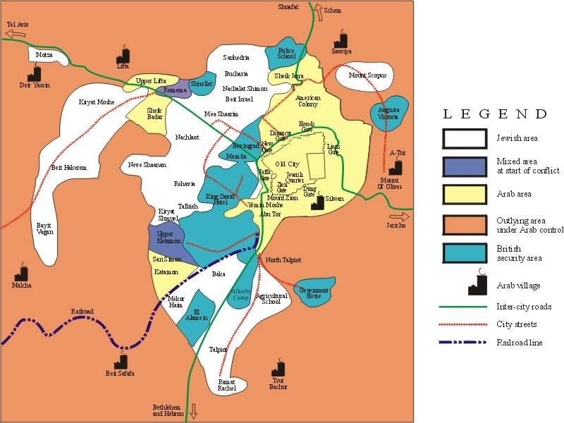 mapa jerusalem Large Jerusalem Maps for Free Download and Print | High Resolution  mapa jerusalem
