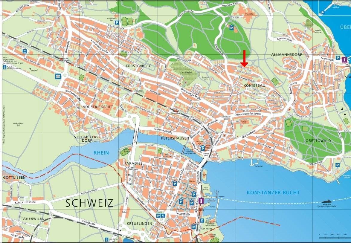 Large Konstanz Maps for Free Download and Print HighResolution