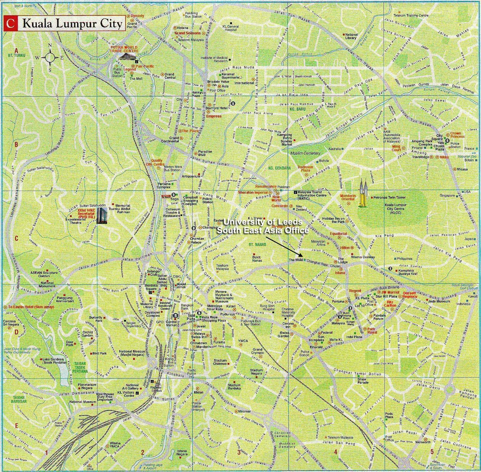 Large Kuala Lumpur Maps for Free Download and Print High