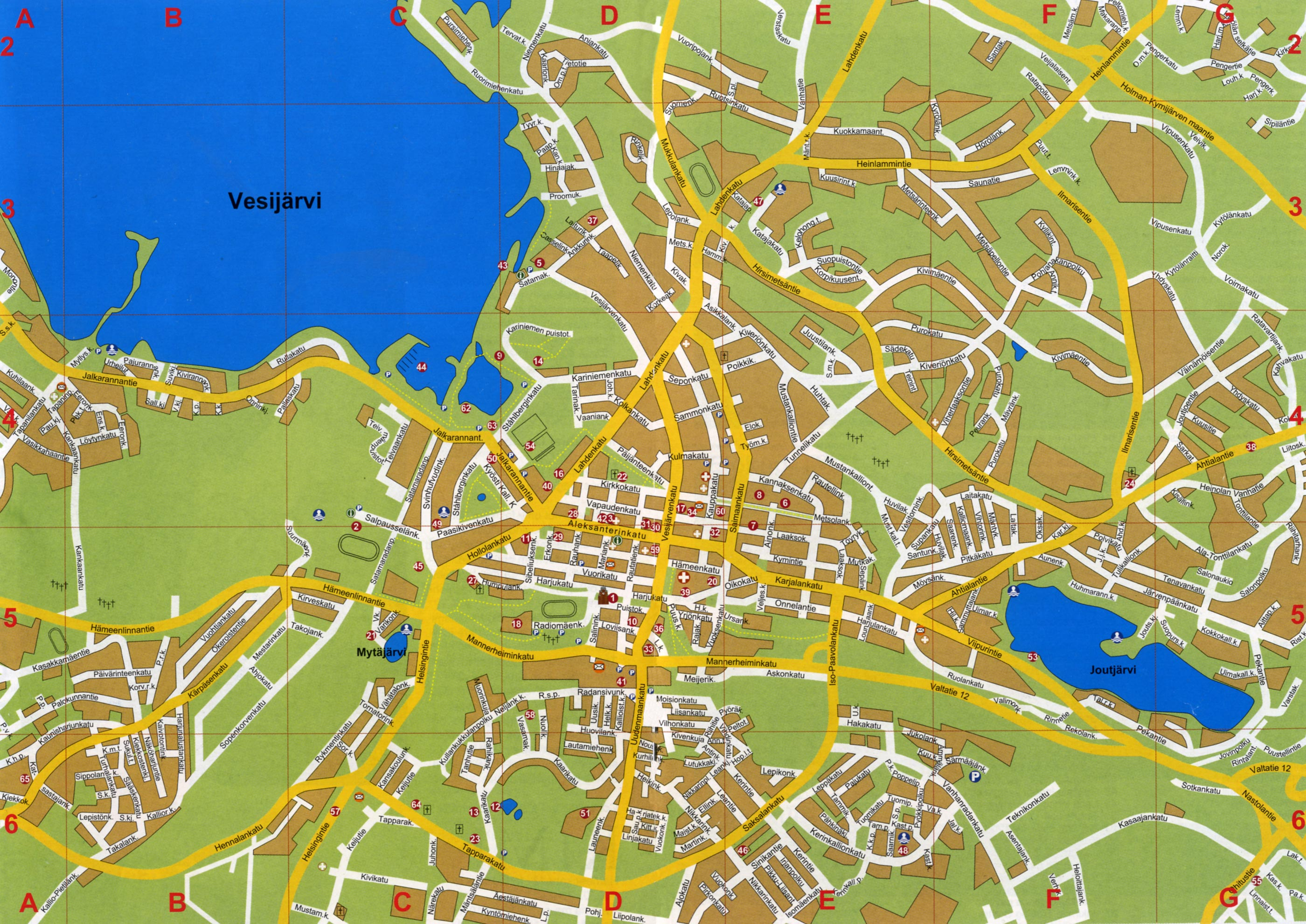 st petersburg detailed city map pdf