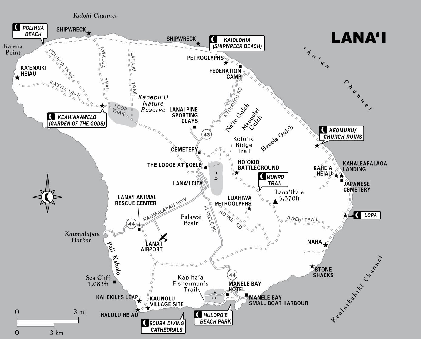 graphic regarding Printable Map of Maui referred to as Higher Lanai Maps for Absolutely free Obtain and Print Significant