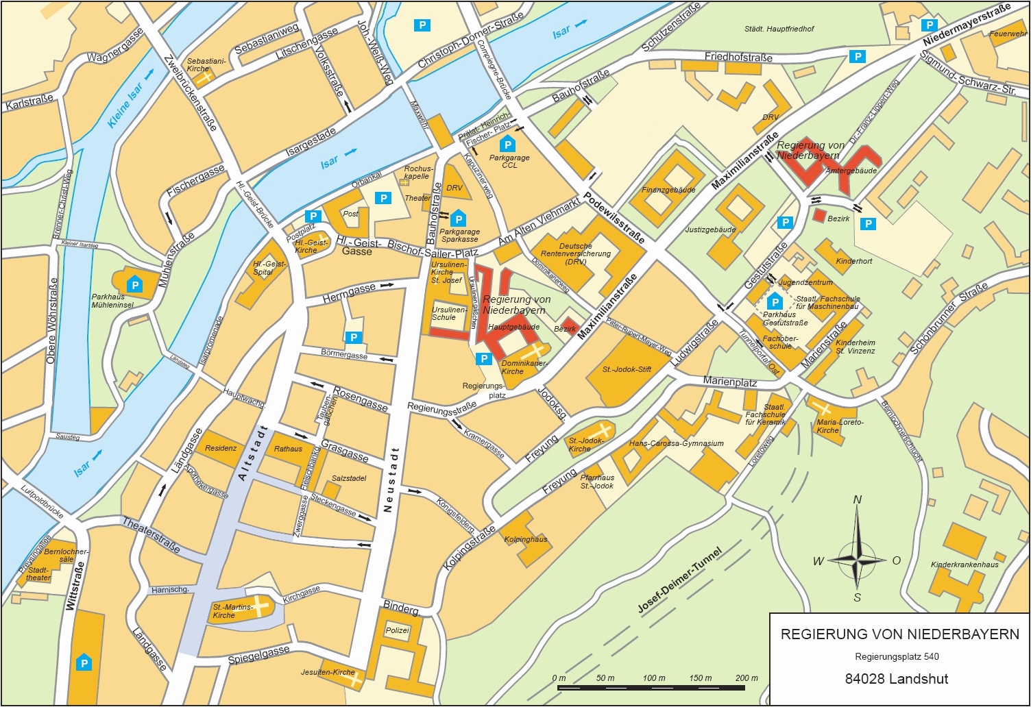 Large Landshut Maps For Free Download And Print High