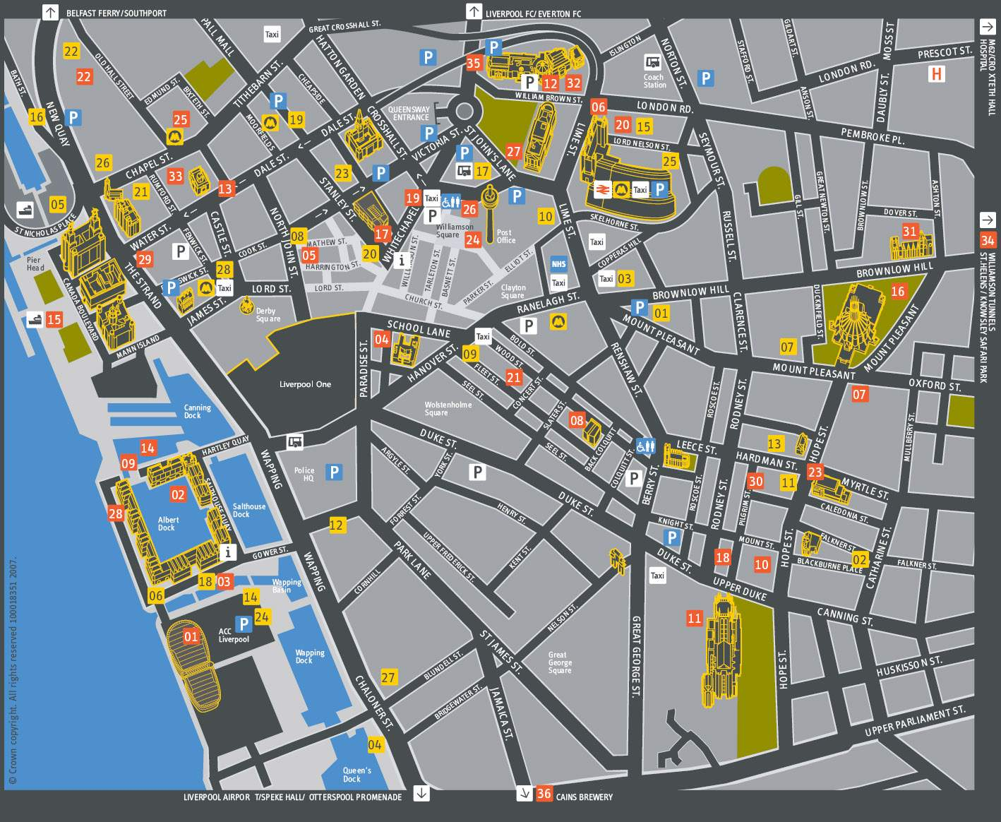 Large Liverpool Maps for Free Download and Print HighResolution