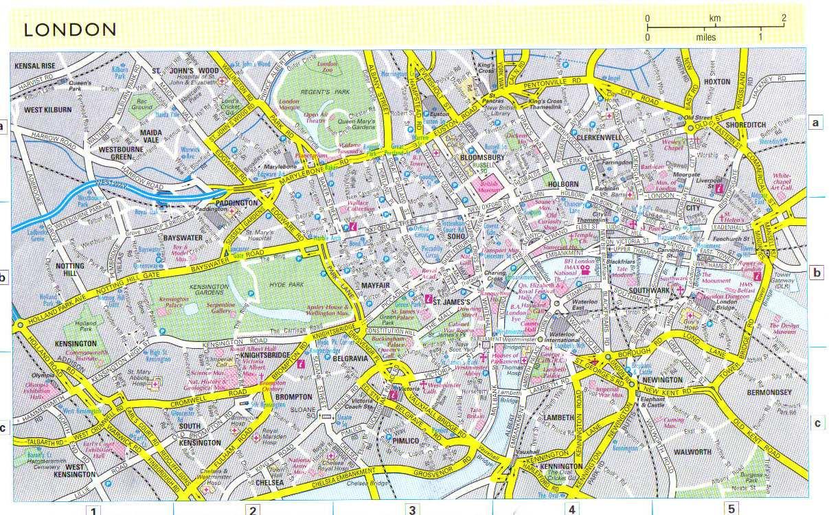 Mapas Detallados De Londres Para Descargar Gratis E Imprimir