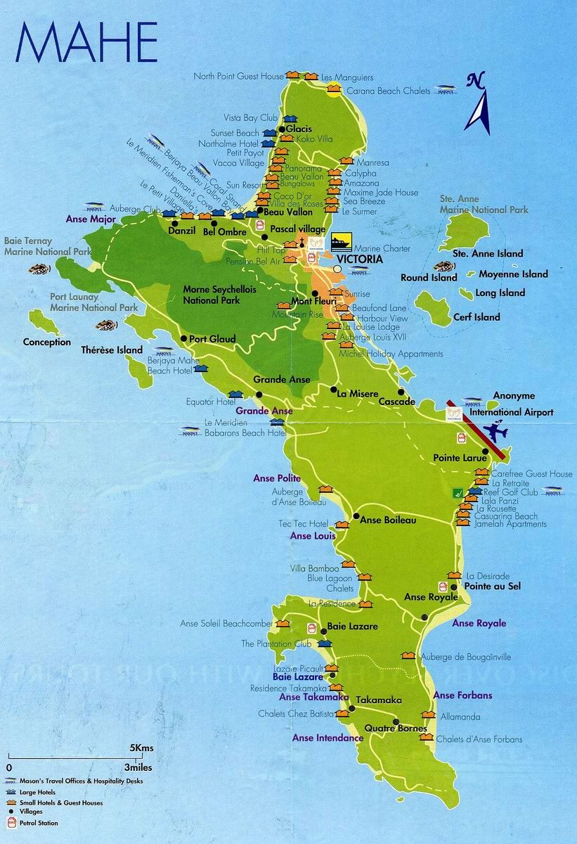 Large Mahe Island Maps for Free Download and Print HighResolution